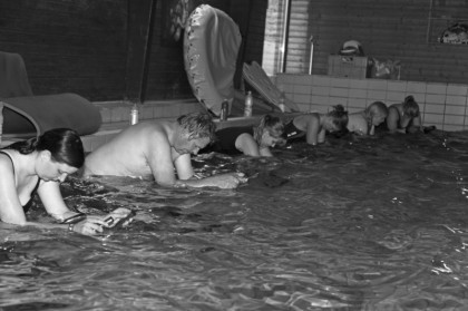 Schwimmbad Kurs Angebot, Ute Leenders Billerbeck, Aquarider Kurs